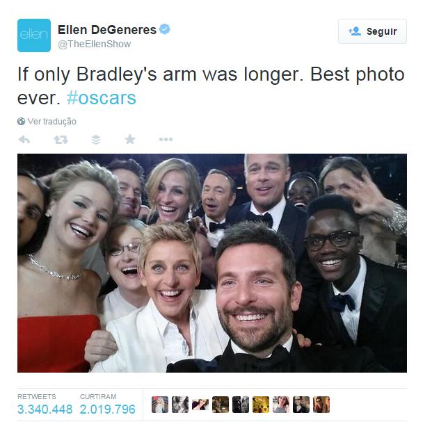 DeGeneres selfie