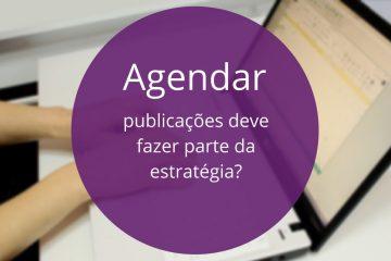 agendar publicações nas redes sociais