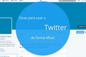 dicas para usar o twitter